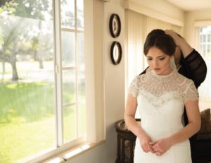 Veil | Wedding Dress | Behind the Face Photography