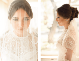 Bridal Portrait | Wedding Dress | Behind the Face Photography