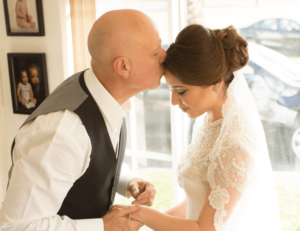 Wedding Father Daughter Moment   Wedding Dress   Behind the Face Photography