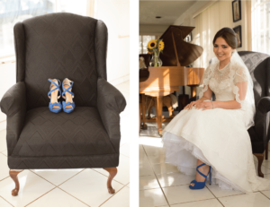 Wedding Shoes | Wedding Dress | Behind the Face Photography