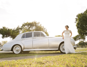 Wedding Ride Wedding Dress | Behind the Face Photography